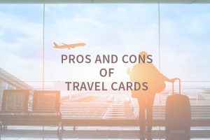business travel at an airport