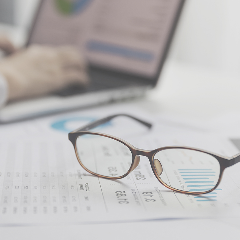 finance reporting visibility