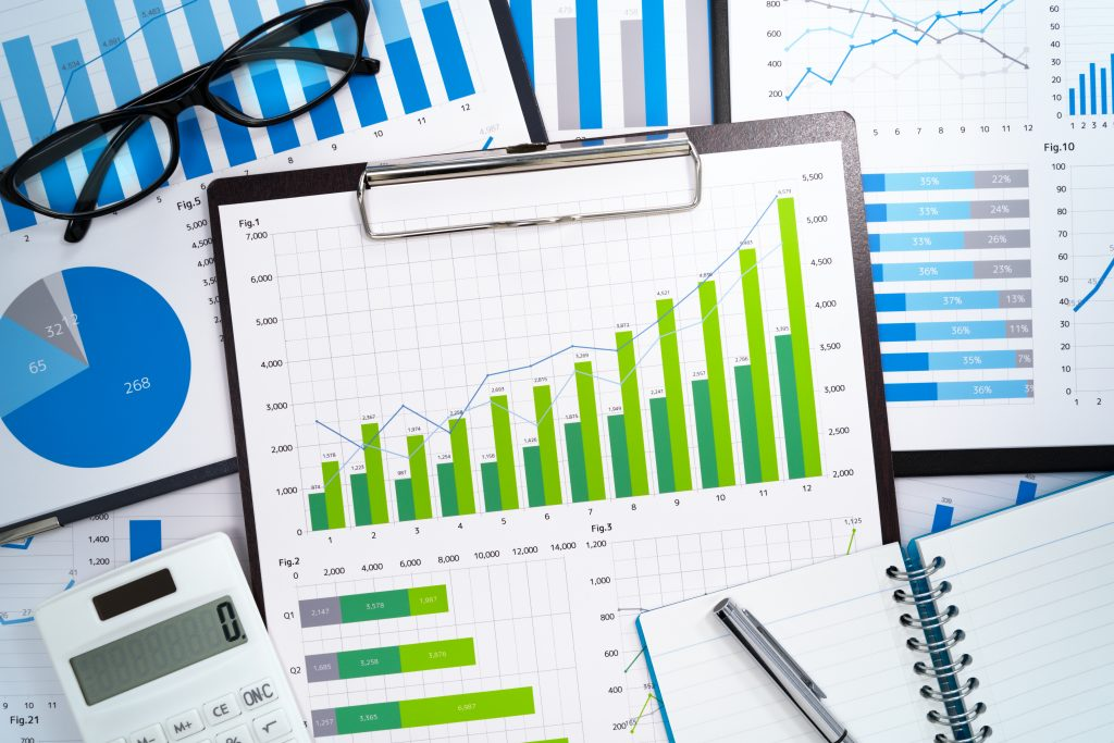 Focus on financial data reports